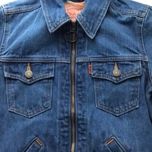 Levi's vintage collection zipper orange tab jacket